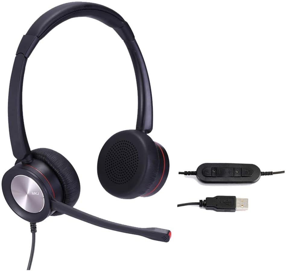 headset for transcriptionists